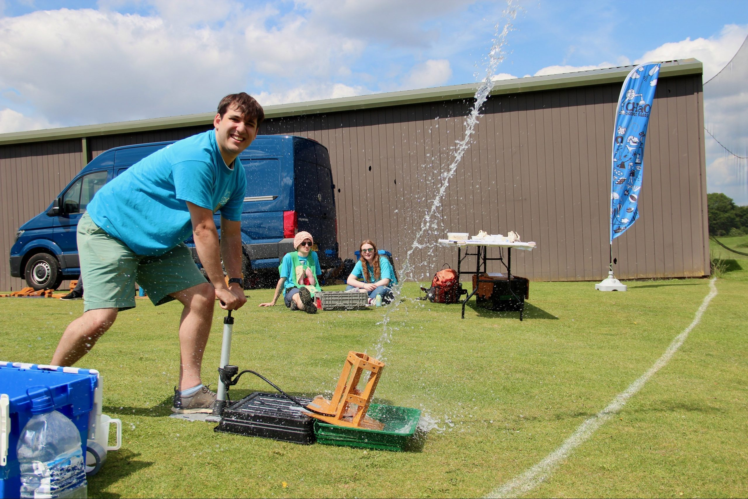 Launching Water Rockets