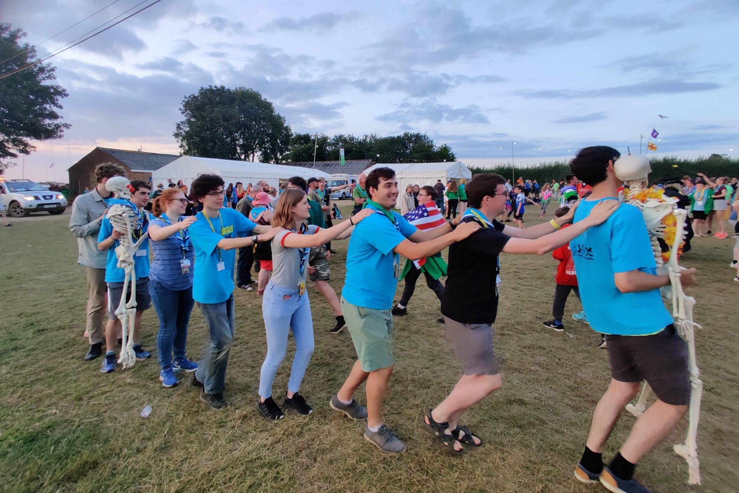 Conga at a Jamboree
