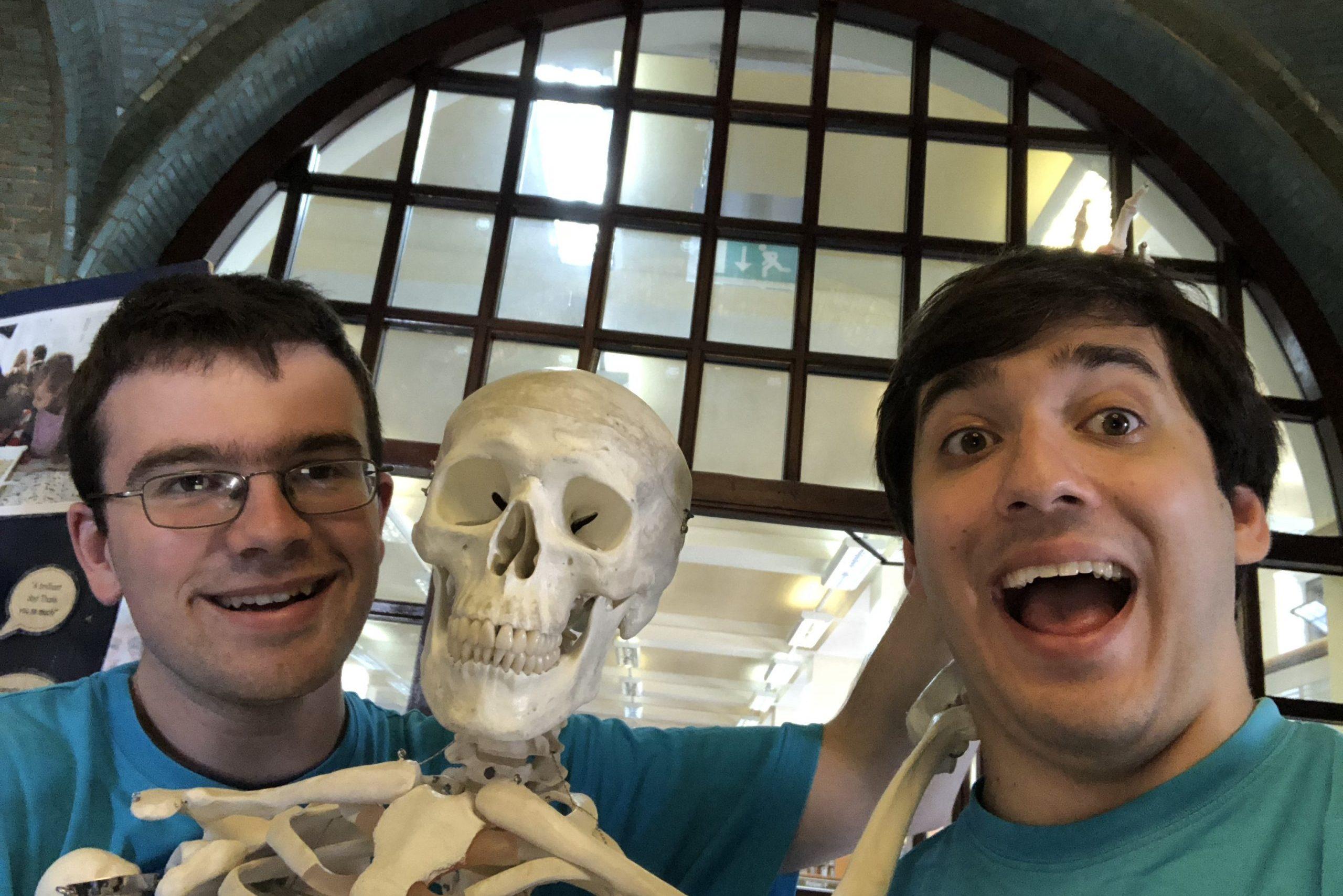 Taking Boris the Skeleton for a Walk